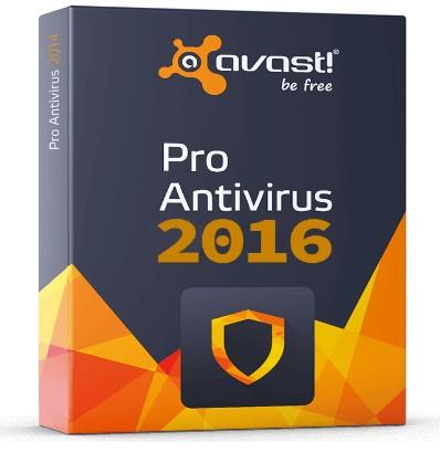 avast pro antivirus 2016